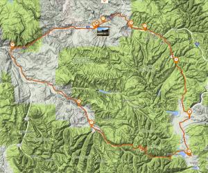 Leadville, Independence Pass, Aspen Loop