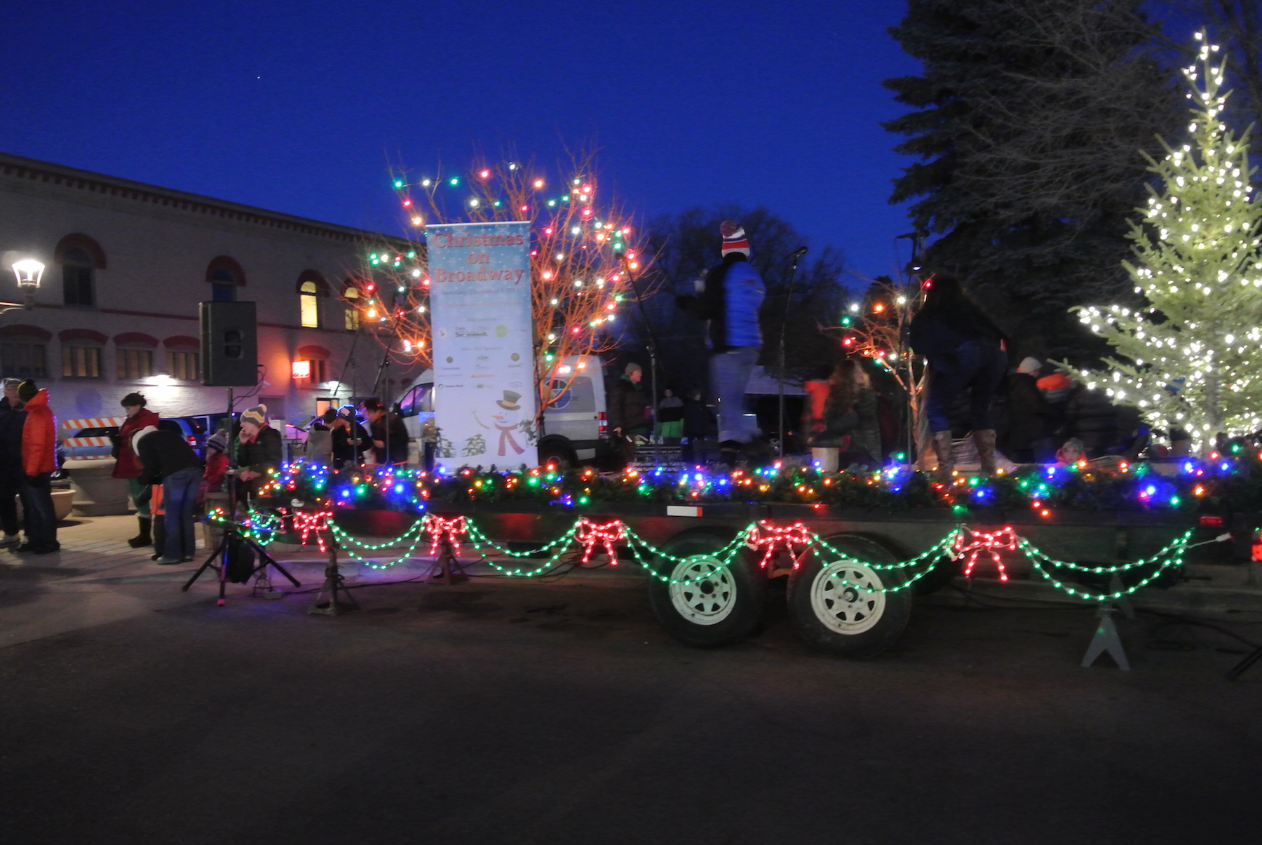 christmas on broadway parade