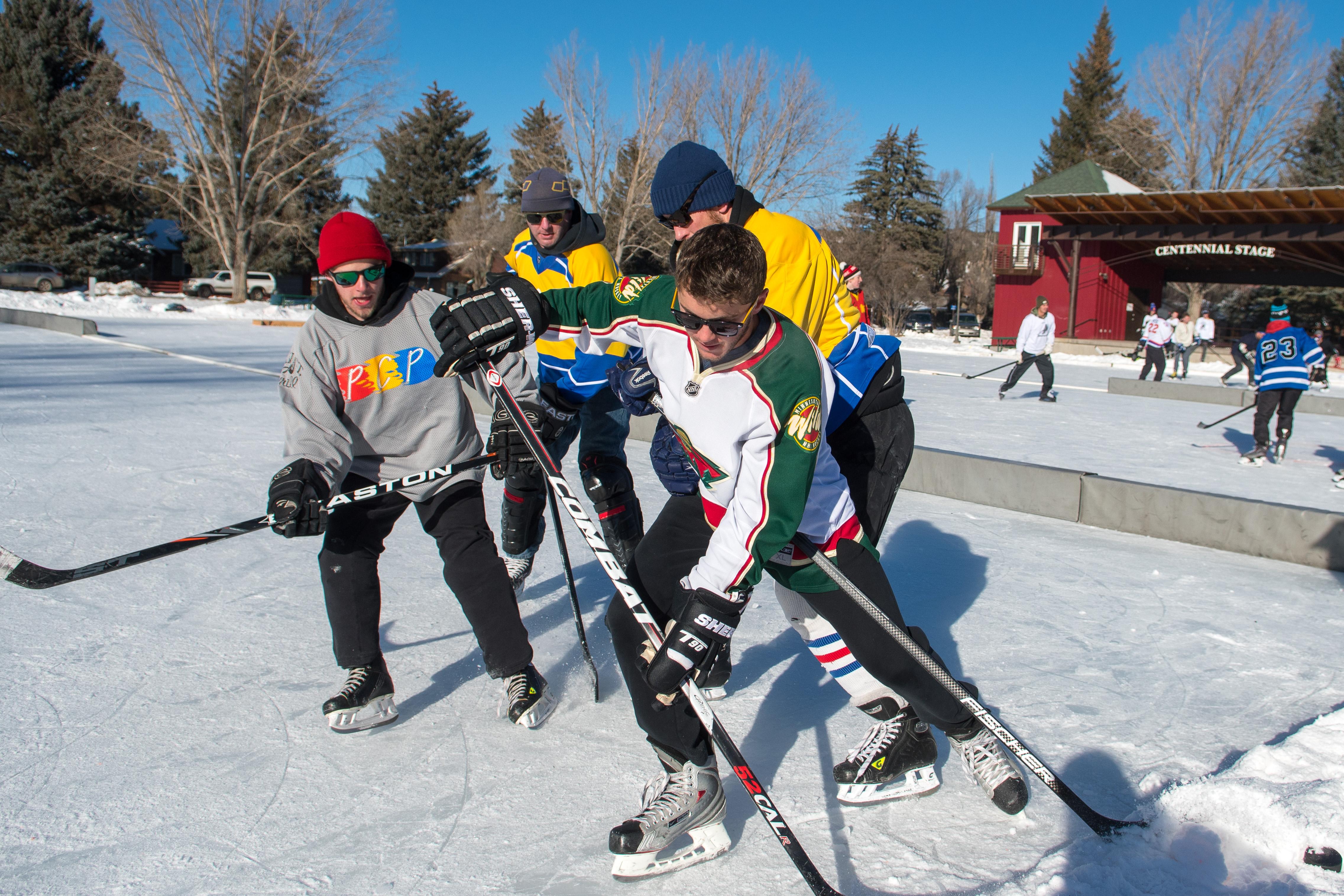 Huskies Hockey Pond Hockey Championships Fundraiser Eagleoutside
