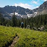 iron edge hike Eagle CO
